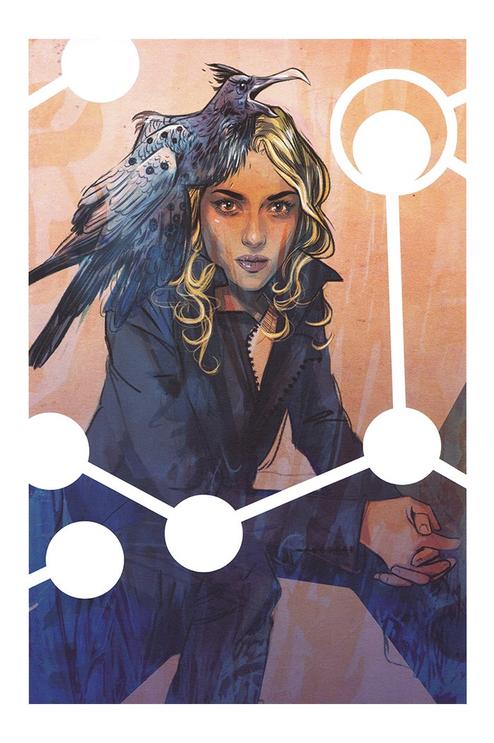 Image of Supreme Blue Rose #1 - Signed Limited Edition Indigo Print by Tula Lotay (Artist's Proof)