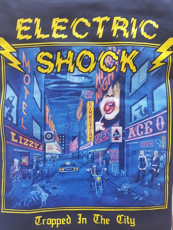 Image of ELECTRIC SHOCK - Trapped in the city - Official T-shirt