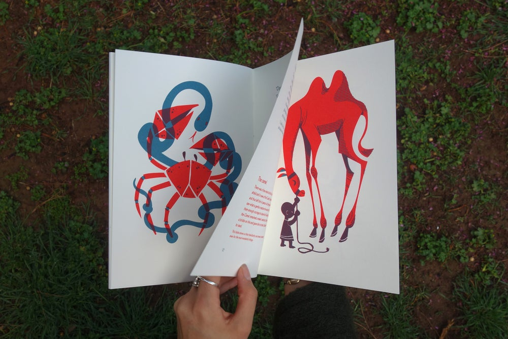 Aesop's Fables With Morals / Silkscreen Book