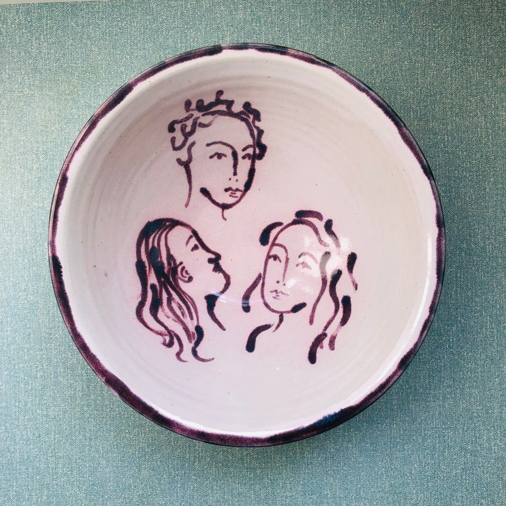 Image of Three Faces Bowl