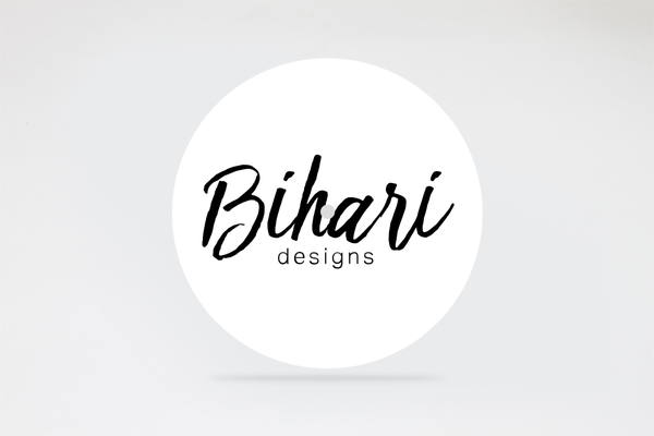 """Image of Bihari Slipmat 7"""" white"""