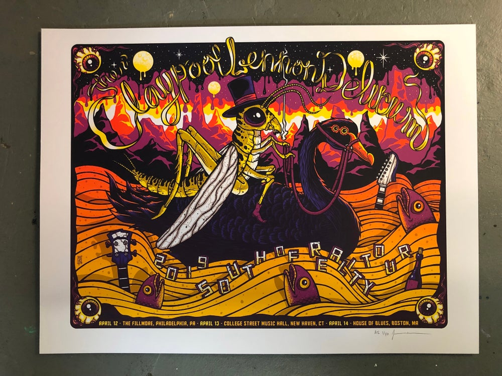 Image of Claypool Lennon Delirium - April 12-14 2019 - PA, CT, MA - Regular Edition