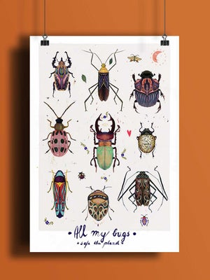 All my bugs - safe the planet