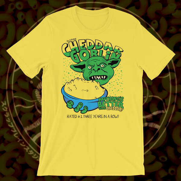 Image of Cheddar Goblin T-shirt YELLOW
