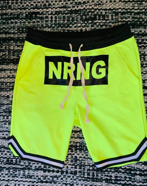 Image of Neon hoop shorts