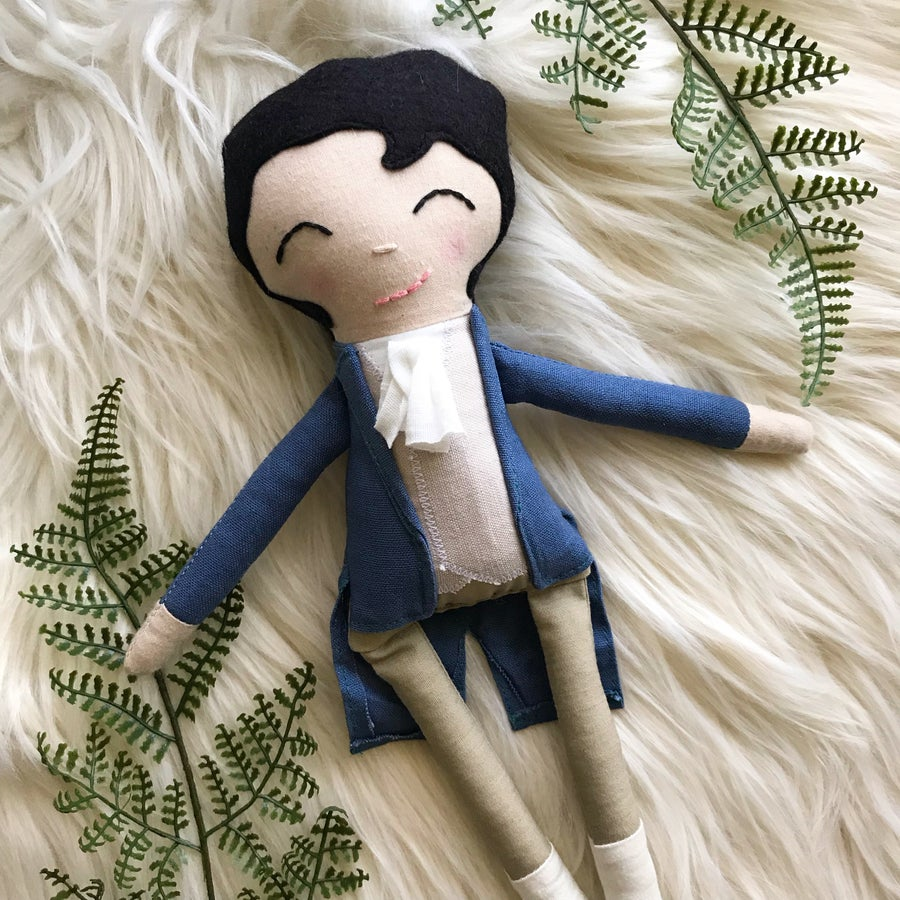 Image of Mr. Darcy Doll