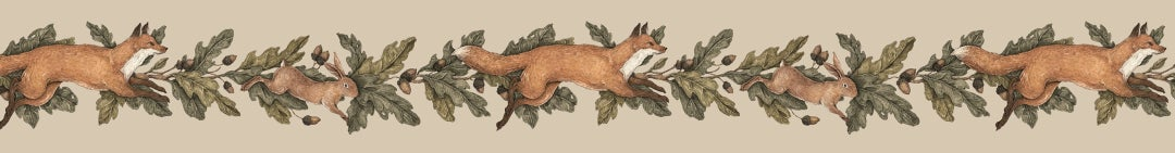 Image of Fox and Hare Washi Tape