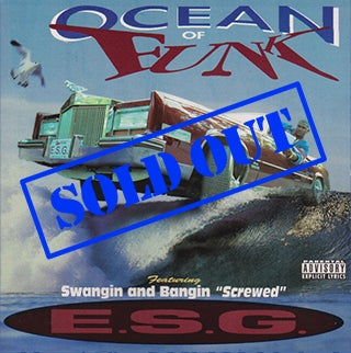 Image of E.S.G. - Ocean Of Funk Double LP