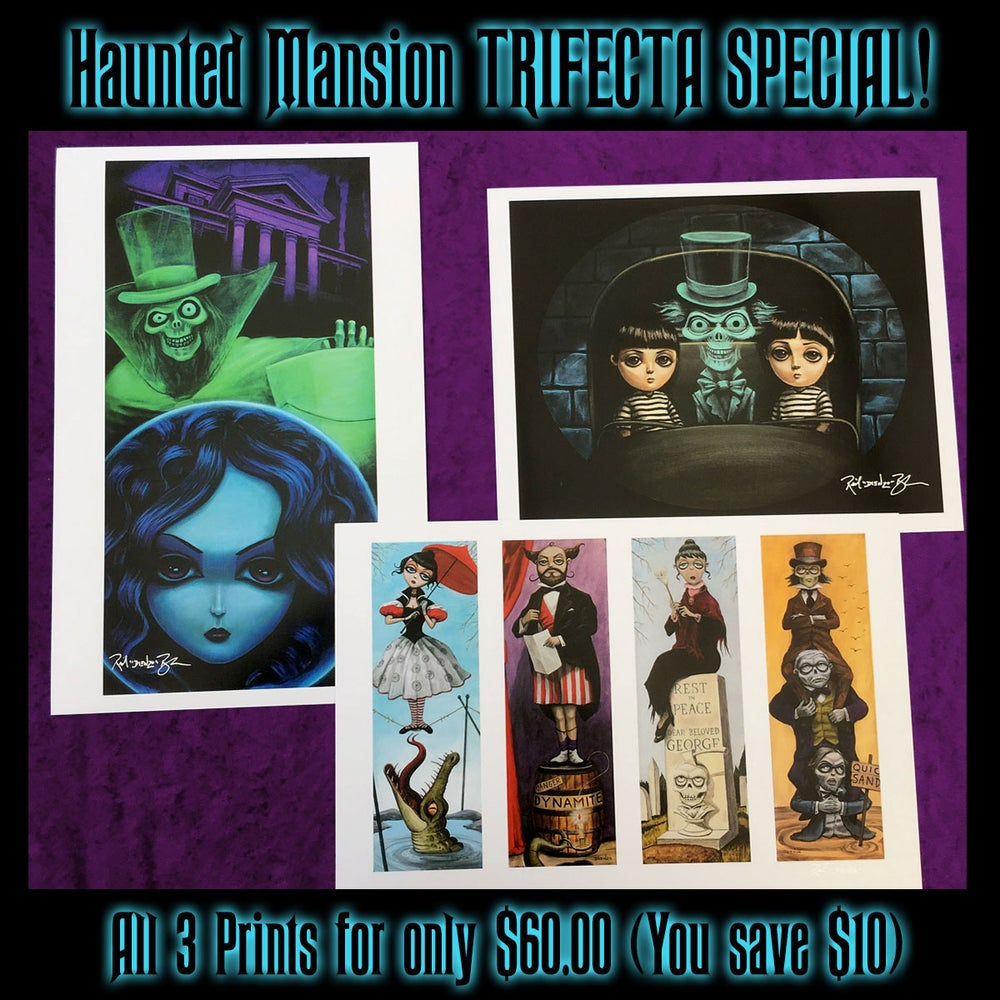 Image of Haunted Mansion TRIFECTA Special!