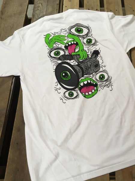 Image of The House X Heroin Skateboards T-shirt