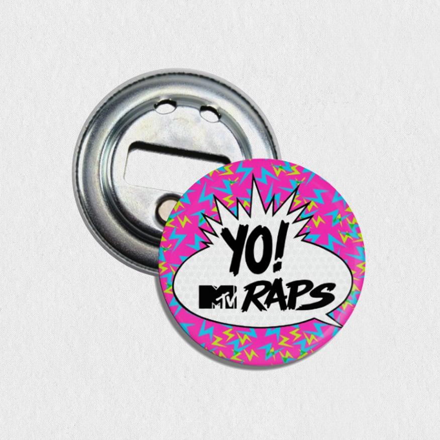 "Image of Yo! MTV Raps 2.25"" Bottle Opener / Magnet"