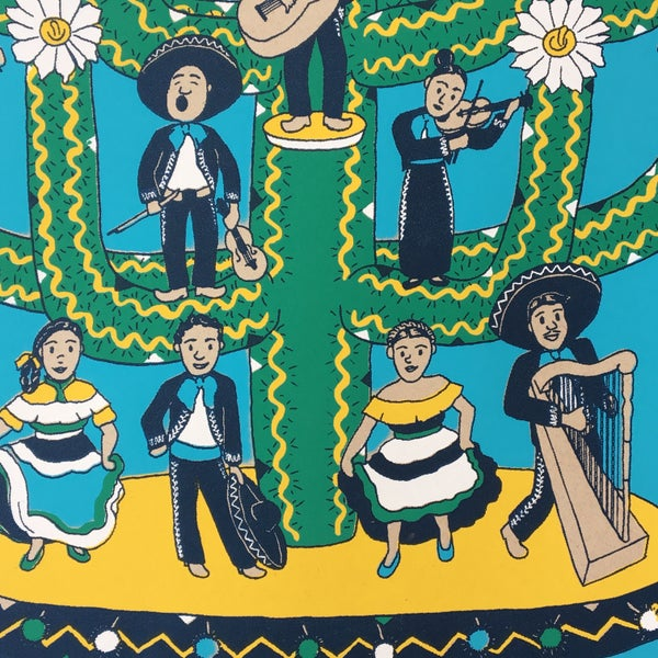 Image of Arbol de Los Mariachis - Limited Edition Print for TIMC