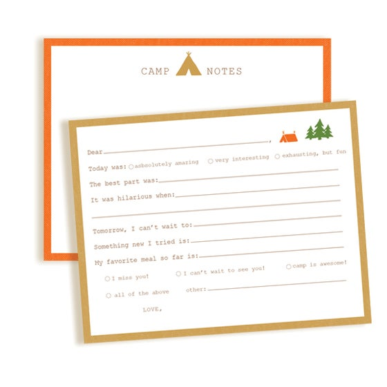 Image of Fill-in-the-Blank / Blank Card Camp Combo