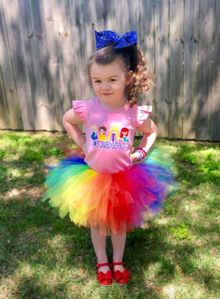 Image of Rainbow Spirit Tutu