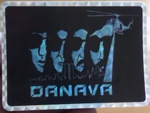 Image of Escape From New York Holographic Sticker