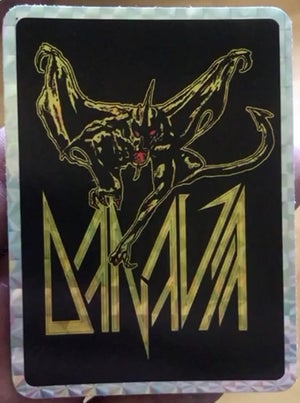 Image of Demon Holographic Sticker