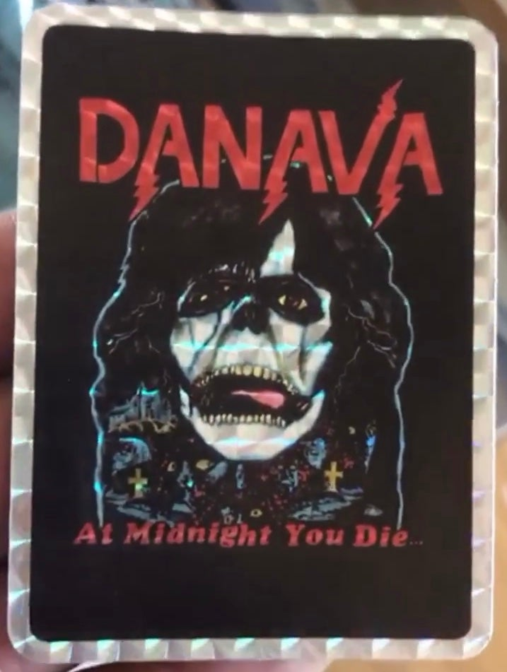 Image of At Midnight You Die Holographic Sticker