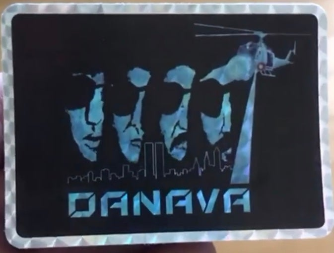 Image of Holographic Sticker Trio