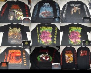 Image of BRUTAL DEATH SLAM MERCH DISTRO T-shirt/Longsleeve