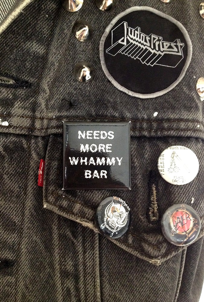 Image of NEEDS MORE WHAMMY BAR Pin