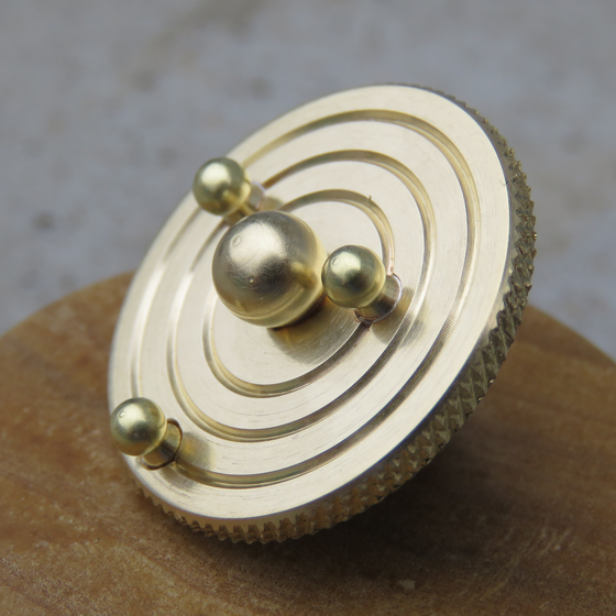 Image of Sphere Orbit pin