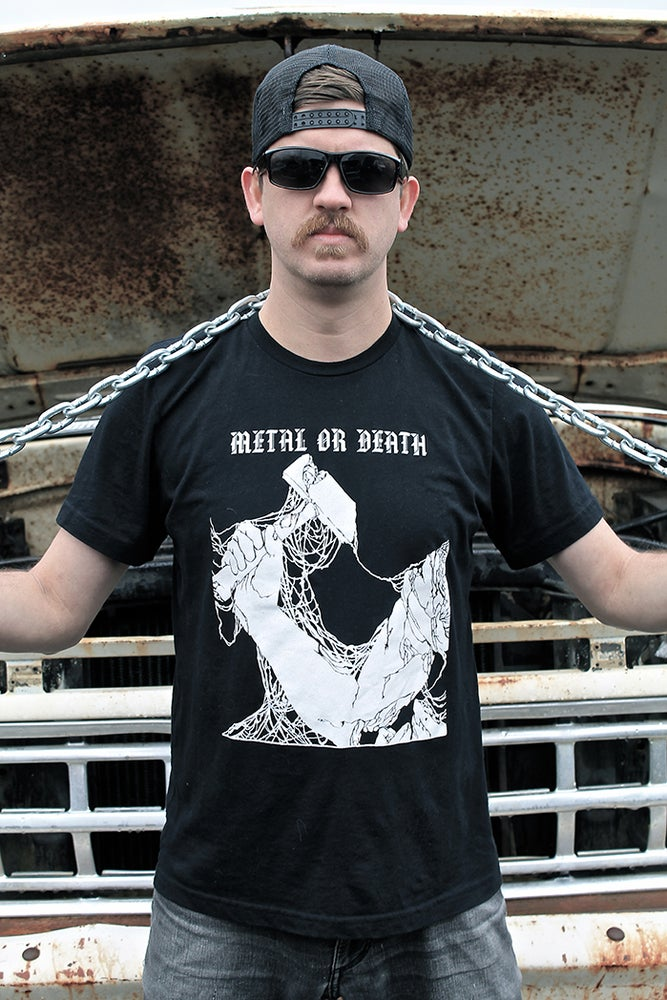 Image of METAL OR DEATH T-shirt