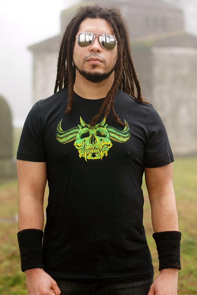 Image of SKULLS OF METAL - HUNTER T-shirt
