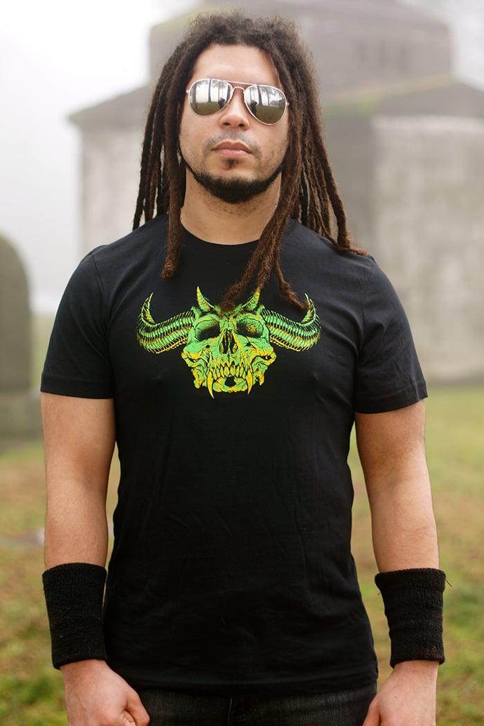 Image of SKULLS OF METAL - HUNTER T-shirt