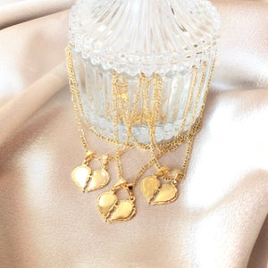 Image of Lovers Heart II Necklace