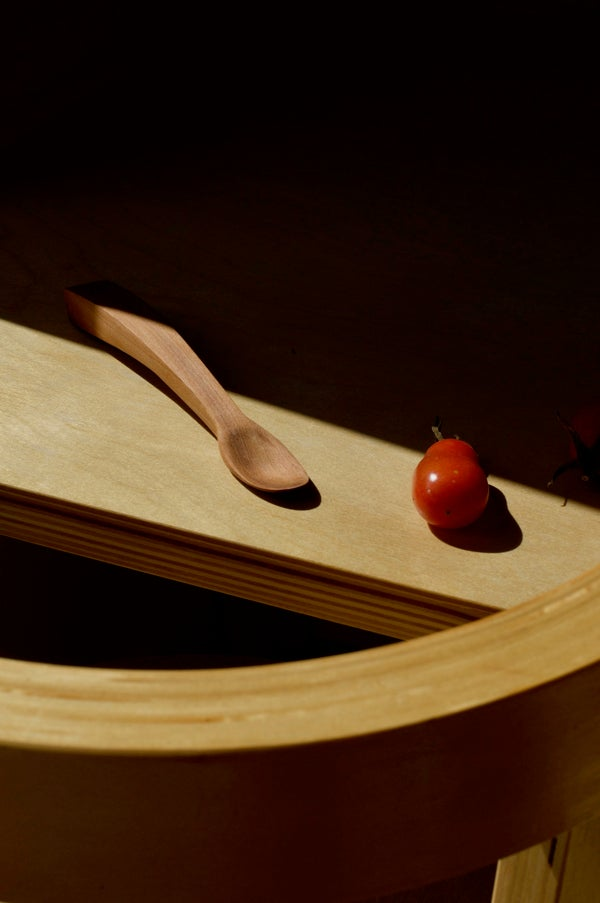 Image of Handcrafted Totara Baby Spoon