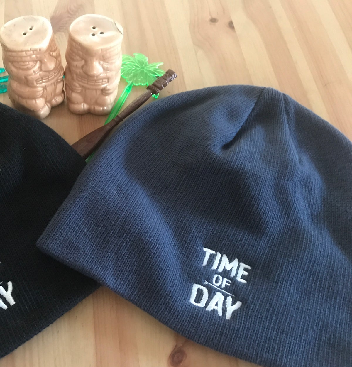 Image of Time of Day Beanie - Pacific Blue