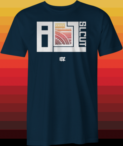 Image of 801 Poly Block T-shirt