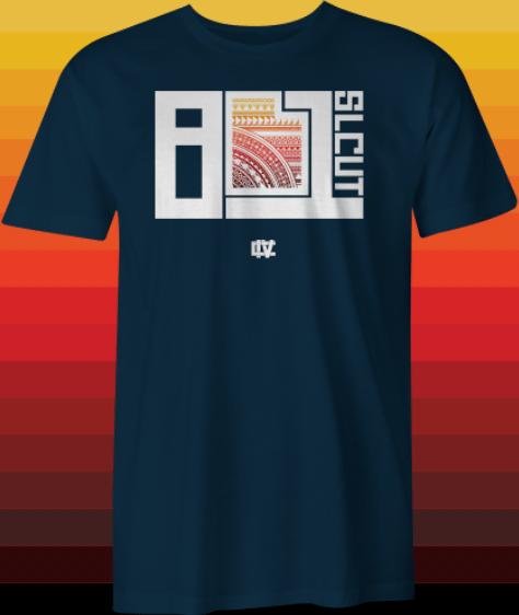 Image of 801 Poly Block T-shirt