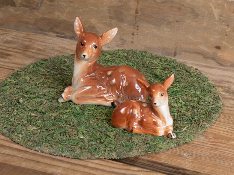 Image of Vintage Doe & Fawn Set