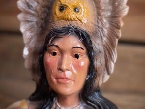 Image of Vintage Native American Bust