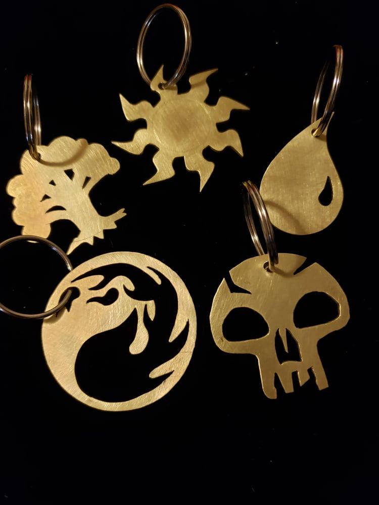 Image of Heavy Brass Keychain