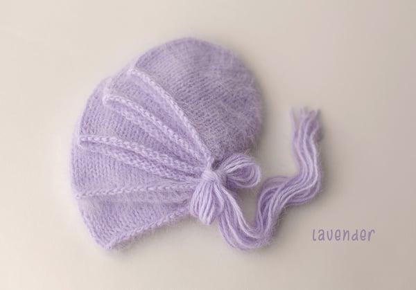 Image of Angora Bonnet - lavender