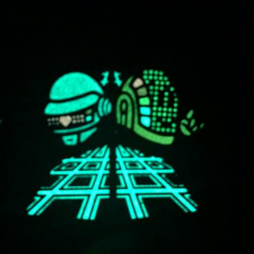Image of Alive Chibi Punk (Glow, Hard Enamel Pin)