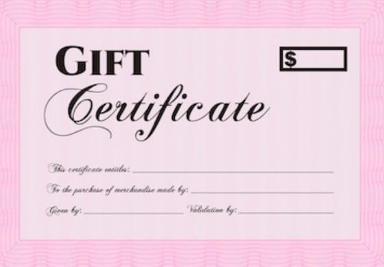 Image of Kota Gift Certificates