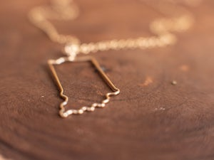 Image of Indiana Wire Form Necklace By TheFolk
