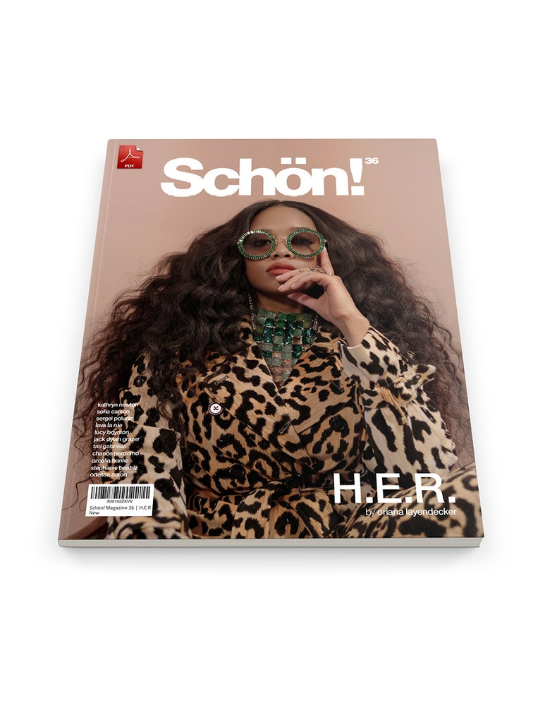 Image of Schön! 36 | H.E.R. by Oriana Leyendecker | eBook download