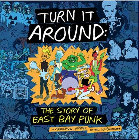 Image of Turn It Around: Soundtrack inspired by the film 2xLP (RARE Limited CLEAR Vinyl)