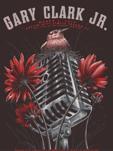 Image of Gary Clark, Jr. Austin City Limits Poster