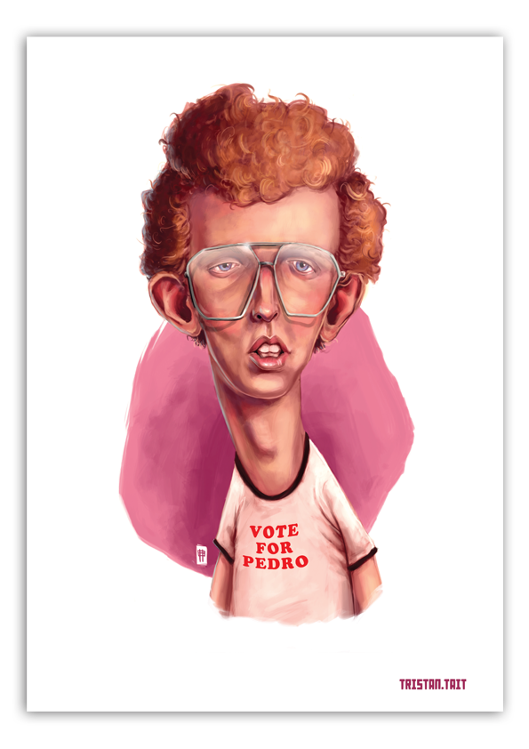 Image of Napolean Dynamite - A3 Poster Print