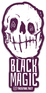 Image of Black Magic - Sticker