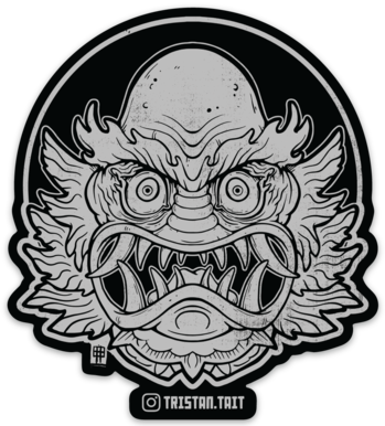 Image of Oni From the Black Lagoon - Sticker