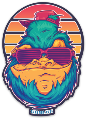 Image of Snowdude - Sticker