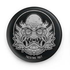 Image of Oni Form the Black lagoon - Button