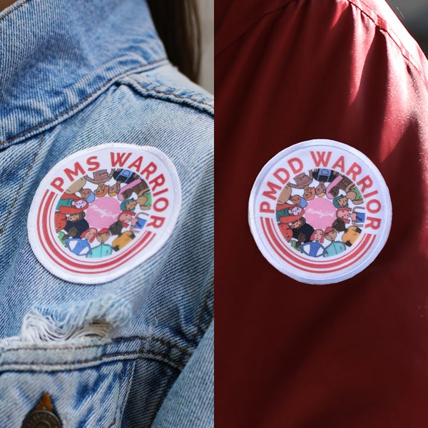 Image of PMS & PMDD Warrior Badges