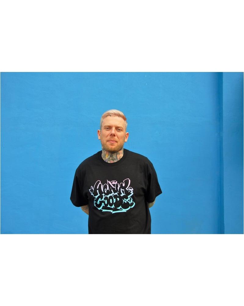 Image of Heavy Goods x Radio T-Shirt - Black
